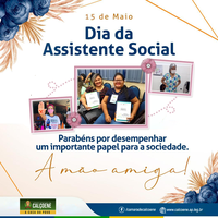 15 de Maio Dia da Assistente Social