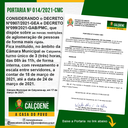 A Câmara Municipal de Calçoene, Informa:
