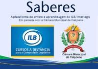 Cursos Online ILB - Saberes em parceria com a Câmara Municipal de Calçoene