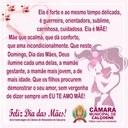 Mensagem da Câmara Municipal de Calçoene ao Dia das Mães!