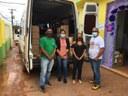 O Vereador Toninho Barata esteve acompanhando a entrega do primeiro lote de medicamentos, insumos e correlatos para atender as Unidades Básicas do Município.