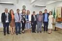 Participação da Dep. Estadual Telma Gurgel e da Dep.Federal Aline Gurgel na sessão ordinária do Parlamento municipal