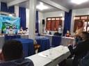Reunião com governador e órgãos de saúde para tratar sobre avanços no enfrentamento ao Covid 19