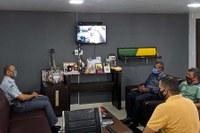 Visita ao Comando Geral da Policia Militar