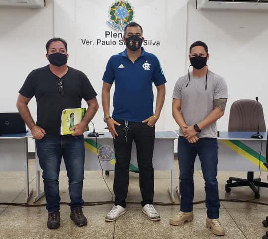 Visita  dos técnicos da Secretaria Estadual de Meio Ambiente - SEMA